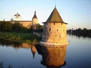 Pskov, one of the oldest cities in Russia.